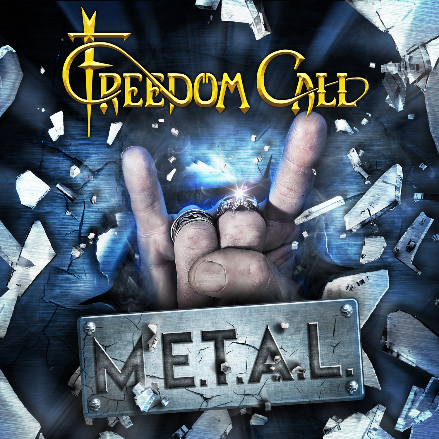 Freedom Call- M E T A L – The Median Man